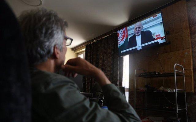 Mensaje a la nación del presidente de Afganistán, Ashraf Ghani