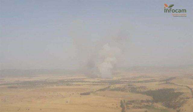 Incendio en Retuerta del Bullaque