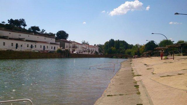Archivo - Playa de San Nicolás del Puerto (Sevilla)