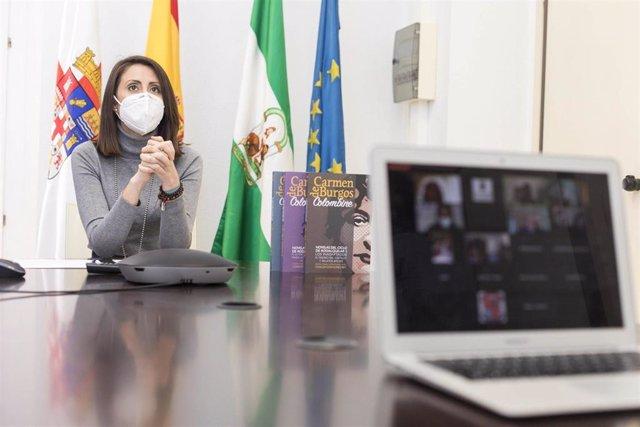 La diputada provincial de Igualdad en Almería, Carmen Belén López.