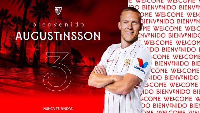 El sueco Ludwig Augustinsson ficha por el Sevilla
