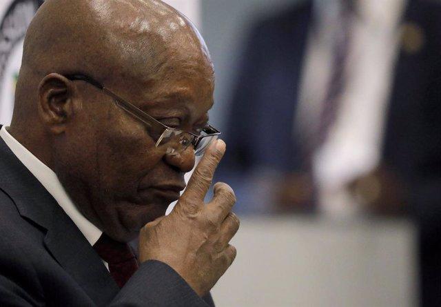 Archivo - El expresidente sudafricano Jacob Zuma