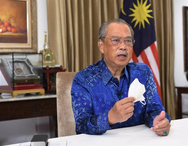 El primer ministro de Malasia, Muhyidin Yasin