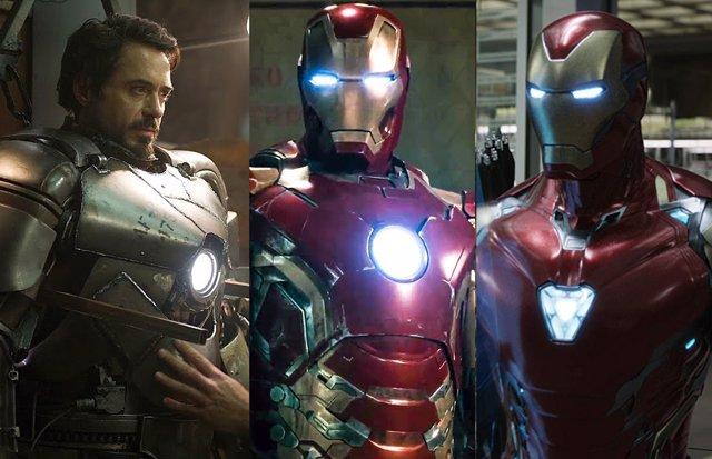 Archivo - Armaduras de Iron Man en el Universo Cinematográfico Marvel