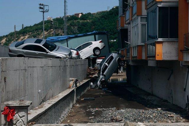 Danys causats per les inundacions a Turquia