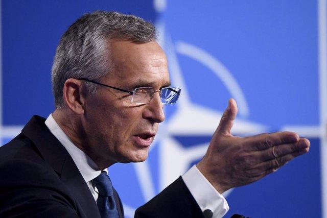Archivo - Arxiu - Jens Stoltenberg, secretari general de l'OTAN