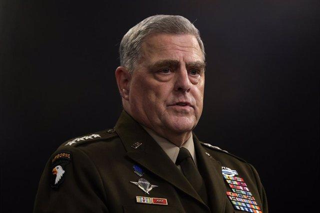Mark Milley, jefe del Estado Mayor Conjunto de Estados Unidos