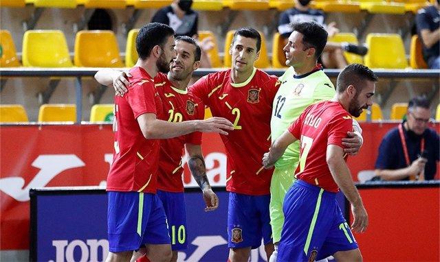 España - Uzbekistán, fútbol sala