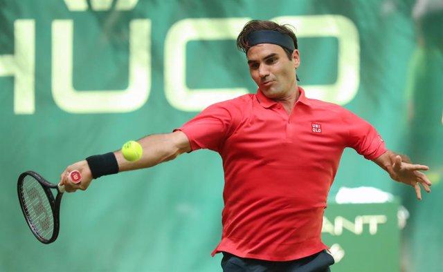 Archivo - Roger Federer