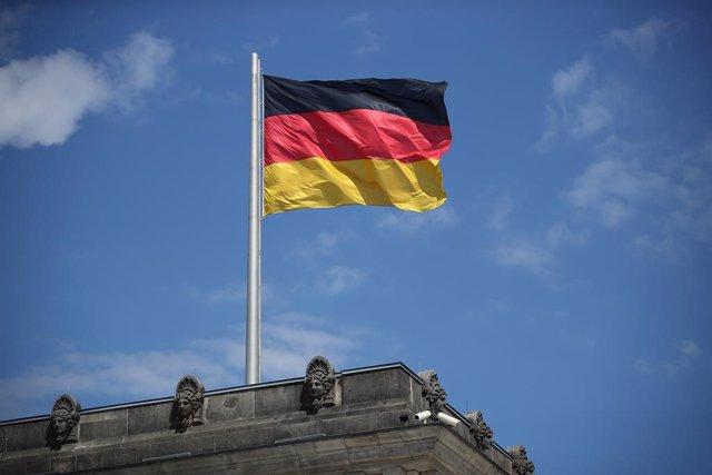 Archivo - Bandera de Alemania.
