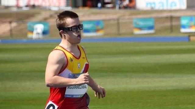 Mikel, atleta con síndrome de Down campeón del mundo en 2019