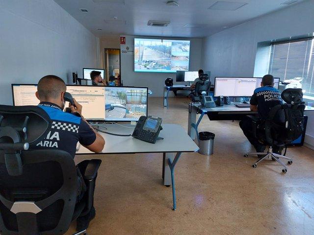 Centre de Control de la Policia Portuària del Port de Barcelona