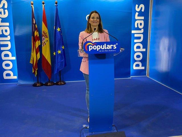 La presidenta del PP balear, Marga Prohens.