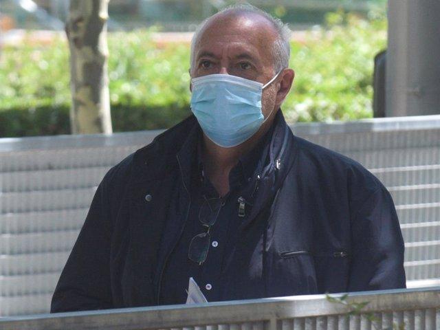 Archivo - José Luis Moreno, puesto en libertad tras su detención el pasado martes