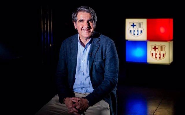 El entrenador del Barça de balonmano, Antonio Carlos Ortega