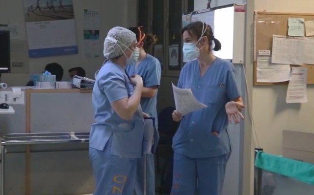 Enfermeras en una imagen de archivo