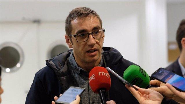 Archivo - El diputado autonómico de Más Madrid Emilio Delgado.