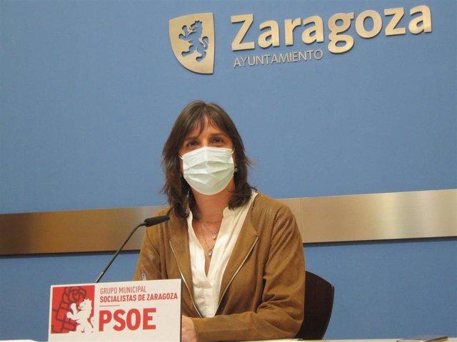 Archivo - Foto de archvio de la portavoz del grupo municipal del PSOE en el Ayuntamiento de Zaragoza, Lola Ranera.