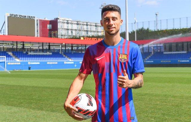 El lateral Guillem Jaime, refuerzo del Barça B para la temporada 2021/22