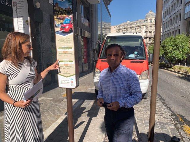 Presentación de nueva información del bus turístico