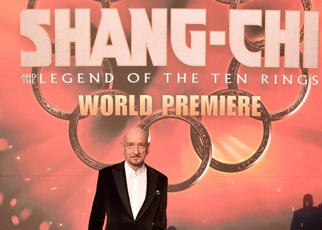 Ben Kingsley en la première de Shang-Chi dispara las alarmas: ¿Vuelve el Mandarín fake al UCM?
