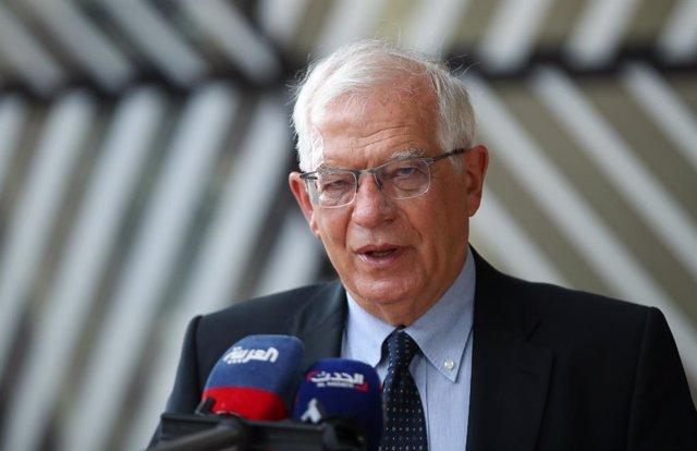 Archivo - El Alto Representante de la Política Exterior de la UE, Josep Borrell