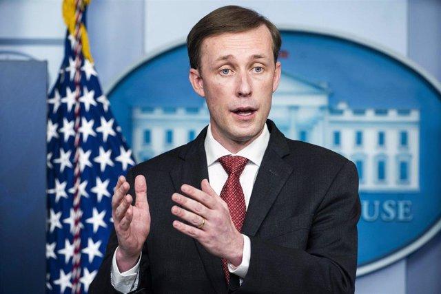 Archivo - El asesor de Seguridad Nacional de Estados Unidos, Jake Sullivan.