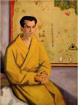 Archivo - Retrato de Federico García Lorca, 1932. Gregorio Toledo.