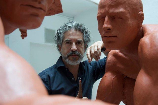 La obra del escultor mexicano Jorge Marín se suma al VIII Centenario de la Catedral de Burgos.