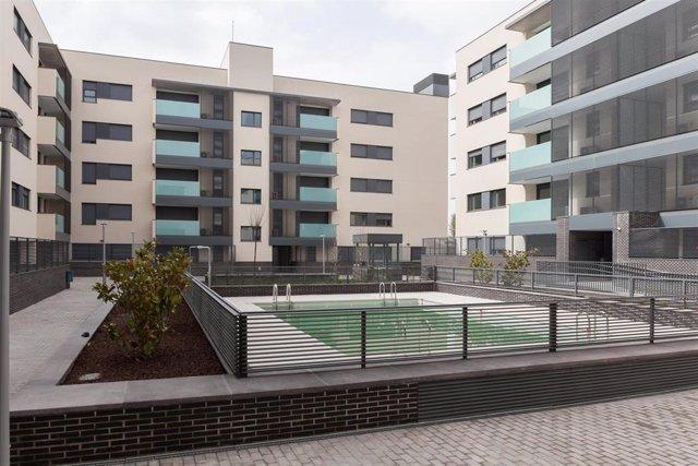 Promoción BtR destinada al alquiler promovida por Aedas Homes en Torrejón de Ardoz para Avalon Properties
