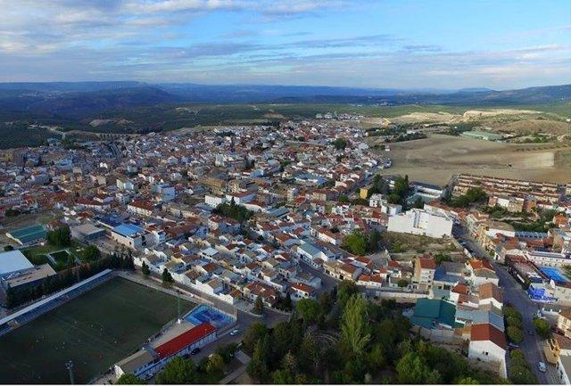 Vista de Villanueva del Arzobispo