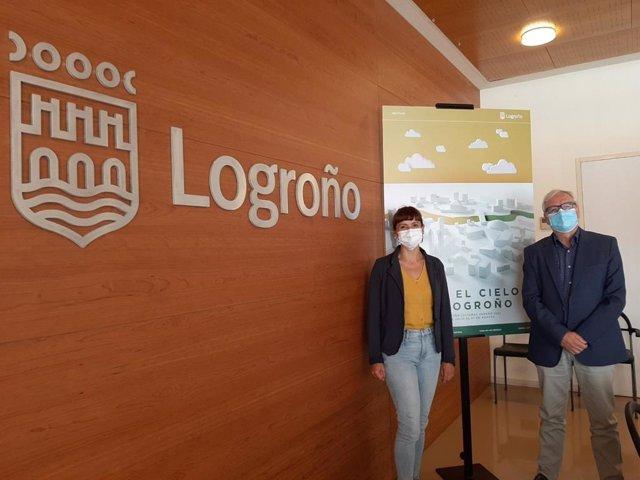 Presentación 'Bajo el cielo de Logroño'