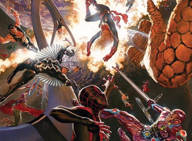 Marvel prepara Secret Wars, el nuevo gran evento de su universo cinematográfico
