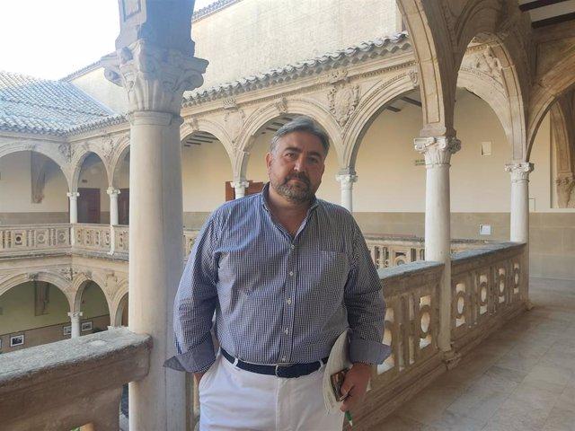 El catedrático de Derecho Mercantil en la Universidad de Jaén y rector del Real Colegio de San Clemente de los Españoles en Bolonia, Ángel Martínez.