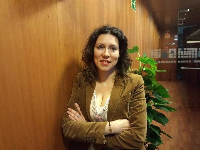 Archivo - Nuria Rodríguez, de Podemos