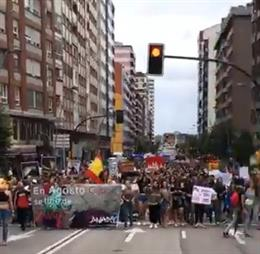 Archivo - Manifestación antitaurina