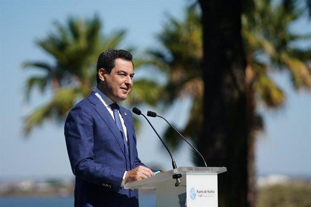El presidente de la Junta, Juanma Moreno, en una imagen de 28 de julio.