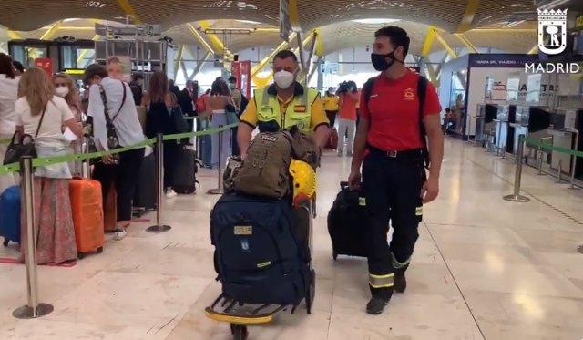 Salen hacia Haití un bombero de la Comunidad de Madrid, un enfermero del Samur y dos bomberos barceloneses para ayudar tras el terremoto