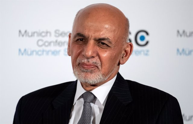 Archivo - FILED - 15 February 2020, Bavaria, Munich: Afghan President Ashraf Ghani speaks at the 56th Munich Security Conference. The Afghan government plans to accelerate the exchange of prisoners with the Taliban militant group, President Ashraf Ghani s