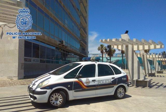 Archivo - Coche de Policía Nacional en Melilla (Foto de archivo).