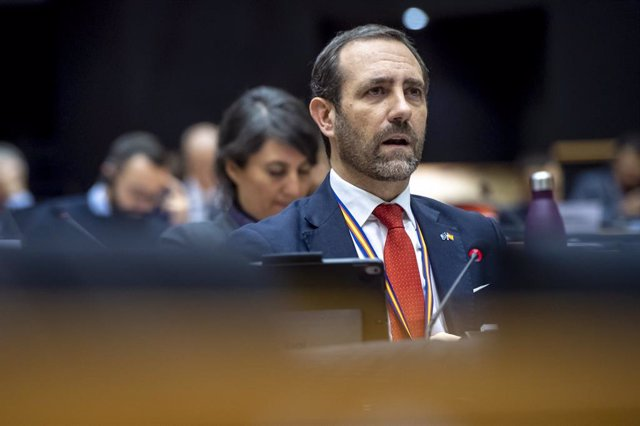 Archivo - El eurodiputado de Cs José Ramón Bauzá