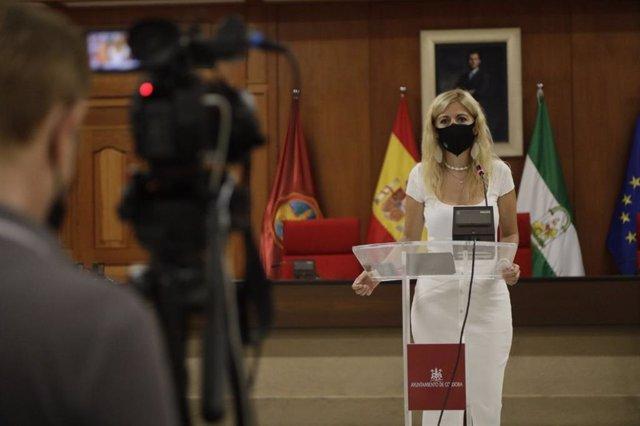 La teniente de alcalde delegada de Transformación Digital del Ayuntamiento de Córdoba, Lourdes Morales.