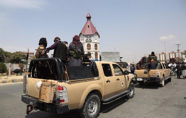 Milicians talibà a Kabul