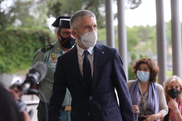 Archivo - Arxivo - El ministre de l'Interior, Fernando Grande-Marlaska.