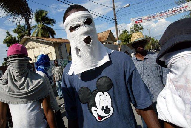 Pandilleros haitianos