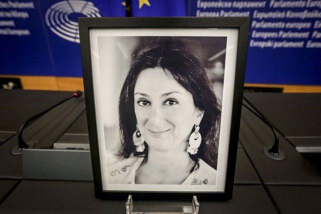 Archivo - Imagen de la periodista Daphne Caruana Galizia
