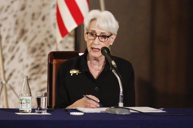 La subsecretaria de Estado de EEUU, Wendy Sherman.
