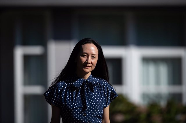 11 August 2021, Canada, Vancouver: Chief financial officer of Huawei Meng Wanzhou leaves home to attend her extradition hearing at BC Supreme Court. Photo: Darryl Dyck/The Canadian Press via ZUMA/dpa