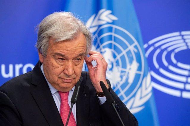 Archivo - Antonio Guterres