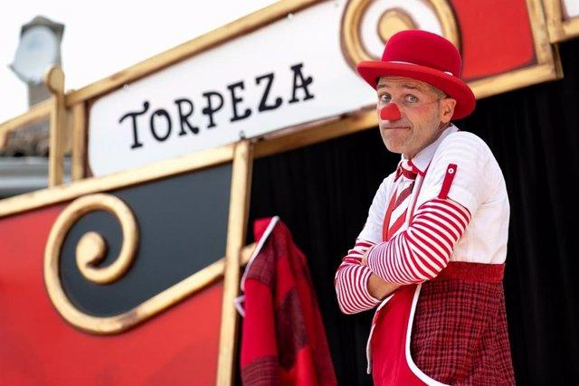 Ismael Civiac ofrece el espectáculo 'Torpeza obliga' este jueves en la localidad de Buera, ubicada en el término municipal de Santa María de Dulcis (Huesca).